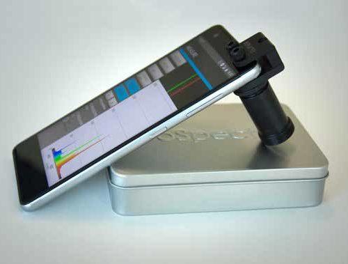 GoSpectro, spectromètre pour smartphone, spectromètre portable