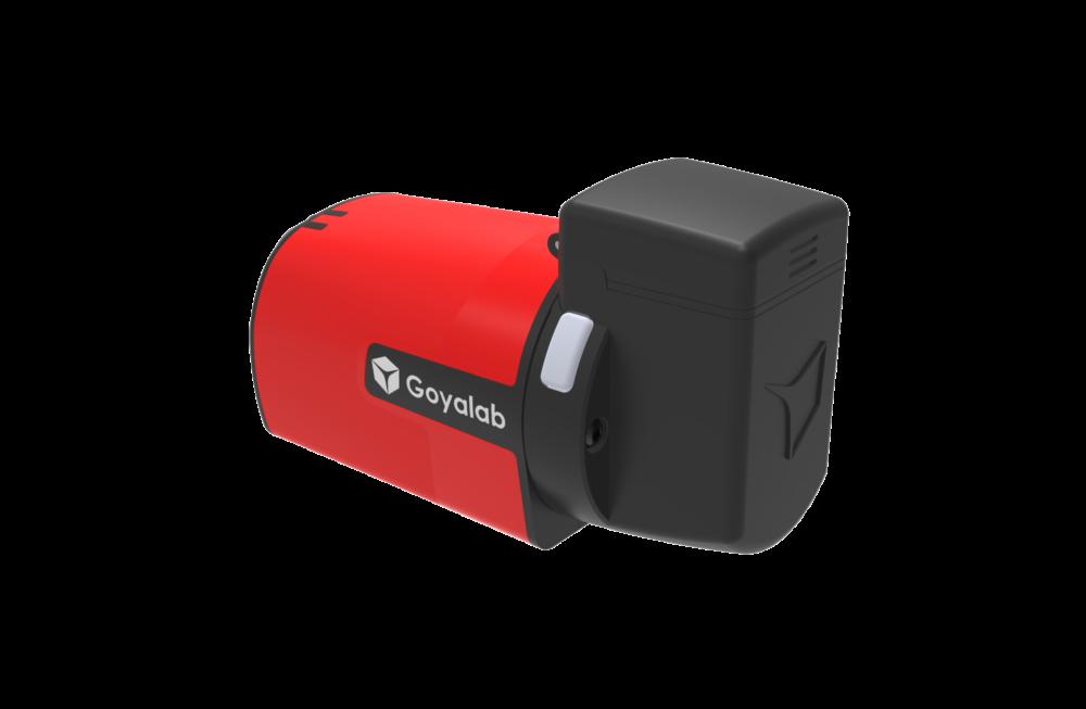 IndiGo NIR spectrometer with cuvette holder for chemical analysis